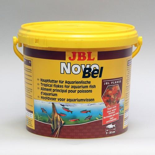 JBL NovoBel 10,5 л - Основной корм в форме хлопьев для всех аквариумных рыб