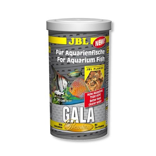 JBL Gala - Основной корм премиум для пресноводных аквариумных рыб, хлопья, 250 мл (38 г)