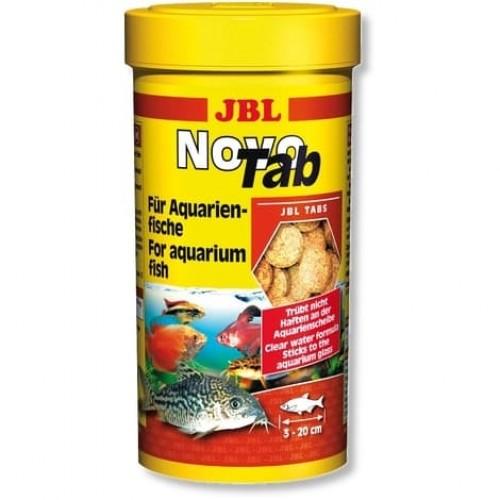 JBL NovoTab корм в форме таблеток для всех видов аквариумных рыб, 100 мл. (160 шт.)