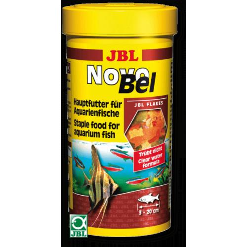 Основной корм в форме хлопьев для всех аквариумных рыб JBL NovoBel, 1000 мл (190 г)