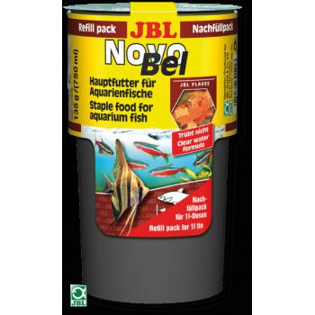JBL NovoBel, 750 мл (130 г)  Основной корм в форме хлопьев для всех аквариумных рыб