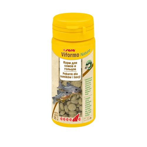 Sera Viformo 50 мл, 33гр - корм в таблетках для всех видов донных рыб