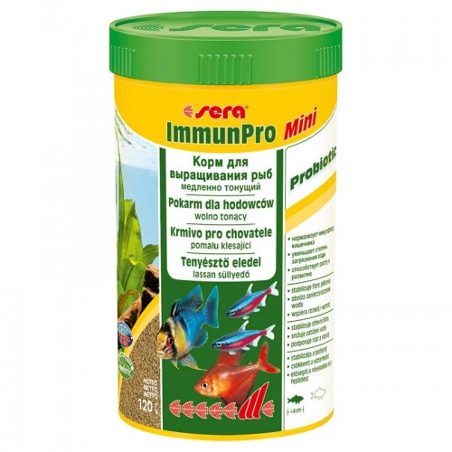 SERA Immun Pro Mini 250мл 120 г Корм для рыб
