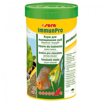 SERA Immun Pro 250мл 112г Корм для рыб