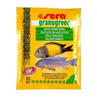 Sera GRANUGREEN 20 гр, корм для цихлид растительноядных.