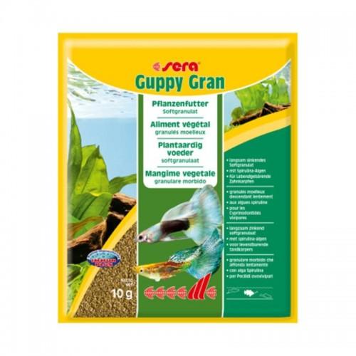 Sera Guppy gran 10 гр, корм для гуппи