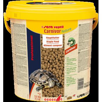 Sera Reptil Professional Carnivor 10 л - Корм для рептилий