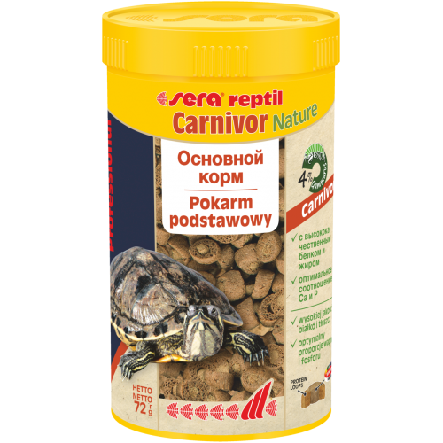 Sera Reptil Professional Carnivor 100 мл - Корм для рептилий