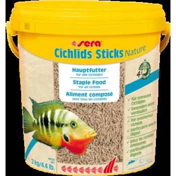 Sera Cichlids Sticks, 10 л (2 кг)