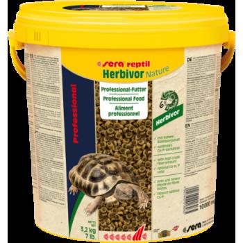 Sera Reptil Professional Herbivor 10 л - Корм для рептилий