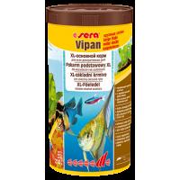 Sera VIPAN 1000мл Корм в виде крупных хлопьев с для всех видов рыб