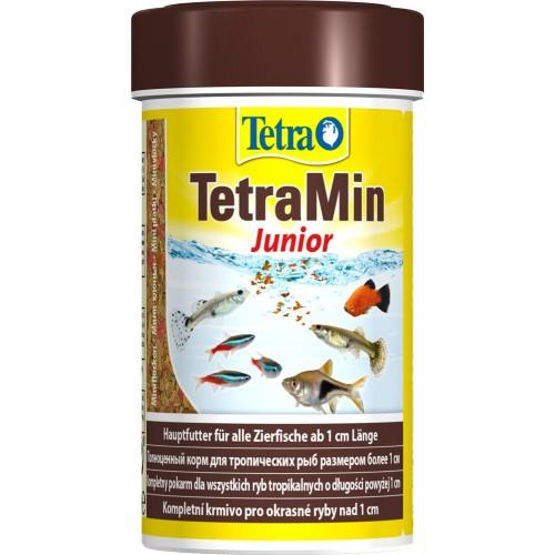 TetraMin Junior 100мл - корм в хлопьях для молоди рыб