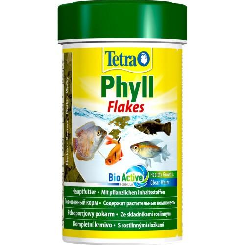 Tetra Phyll 100мл хлопья растительные, Корм для рыб