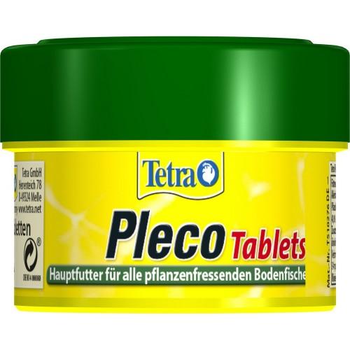 Tetra PlecoTablets 58 табл Корм для рыб растительный