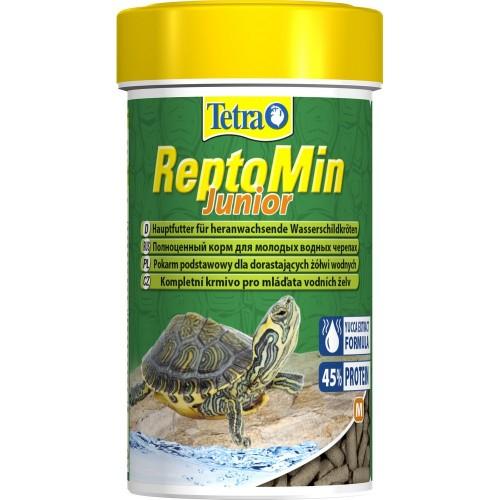 Tetra ReptoMin Junior 100мл, Корм для молодых черепах