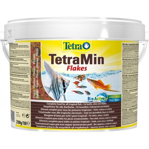 Tetre TetraMin Flakes 10л хлопья Корм для рыб