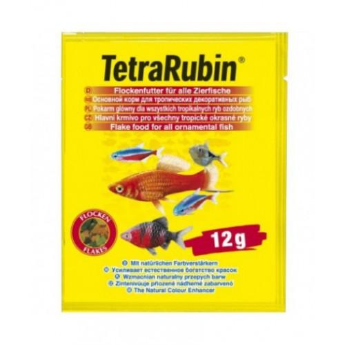 TetraRubin 12г (пакетик) - корм для улучшения окраса рыб
