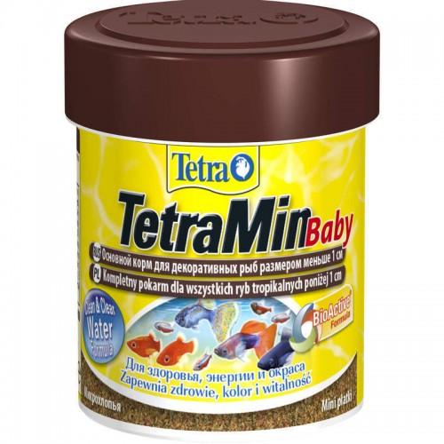 TetraMin Baby 66мл - корм для мальков, мелкая крупа