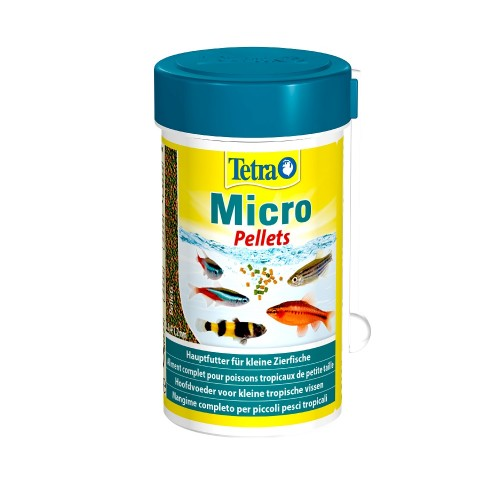 Tetra Micro Pellets 100мл Корм для рыб микро пеллеты