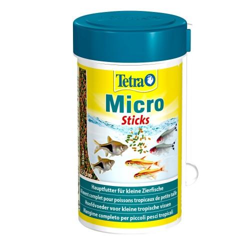 Tetra Micro Sticks 100мл Корм для рыб микро палочки