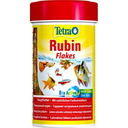 Tetra Rubin Flakes, 100 мл Корм для усиления насыщенности окраса рыб