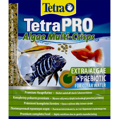 TetraPRO Algae Multi-Crisps 12гр, Корм для рыб