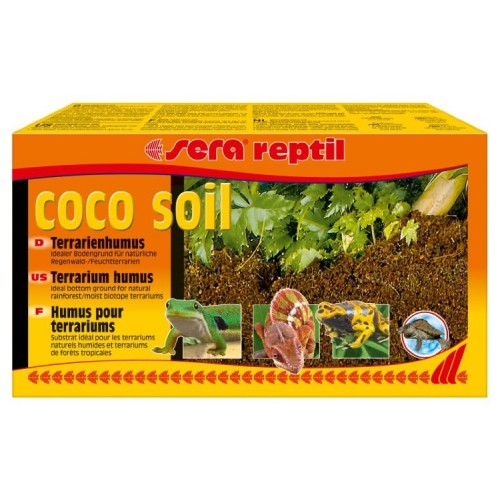 Sera Reptil Coco soil - террариумный гумус