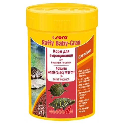 sera Raffy Baby Gran 100 мл Корм для рептилий