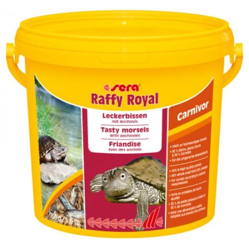 Sera Raffy Royal 3800 мл - корм-лакомство для черепах