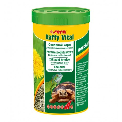 Sera Raffy Vital 250 мл - Корм для рептилий