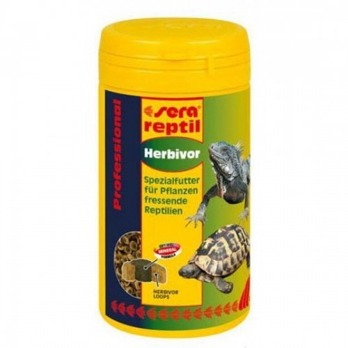 Sera Reptil Professional Herbivor 250 мл - Корм для рептилий