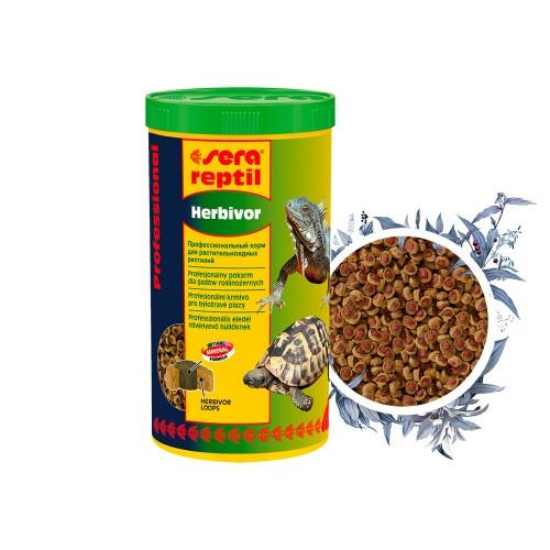 Sera Reptil Professional Herbivor 1000 мл - Корм для рептилий