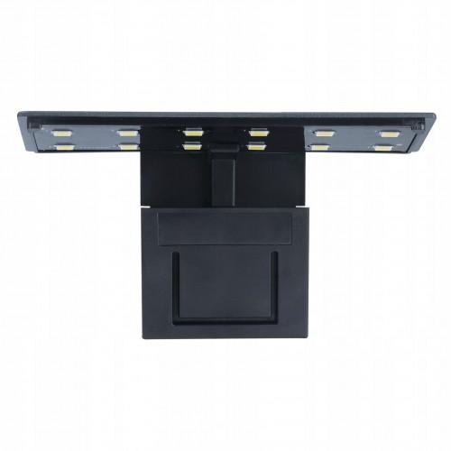 ALEAS Аквариумный светодиодный светильник X3 LEDx12, 5W, черный