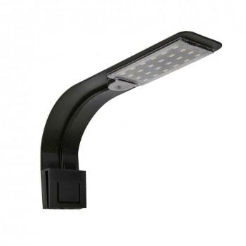 Ультратонкий светодиодный светильник 10W ( X5, черный корпус, белый  свет)