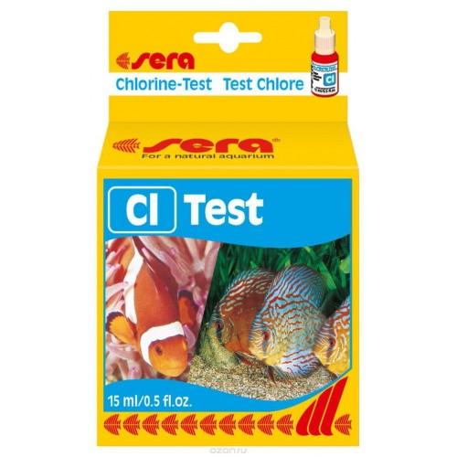"Sera ""Cl-Test"", Тест для воды 15 мл"