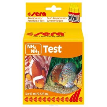 "Sera ""NH4/NH3-Test"", Тест для воды  15 мл. 2 шт"
