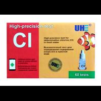 UHE Cl test - тест определения концентрации хлора (Cl) в воде