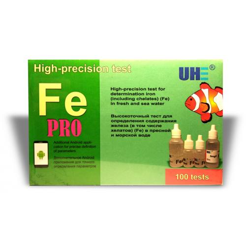 UHE Fe PRO test - тест для определения концентрации железа в воде