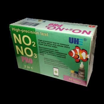 UHE NO2/NO3 PRO test - тест для определения концентрации нитритов и нитратов в воде