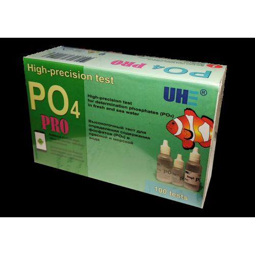 UHE PO4 PRO test - тест для определения концентрации фосфатов (PO) в воде