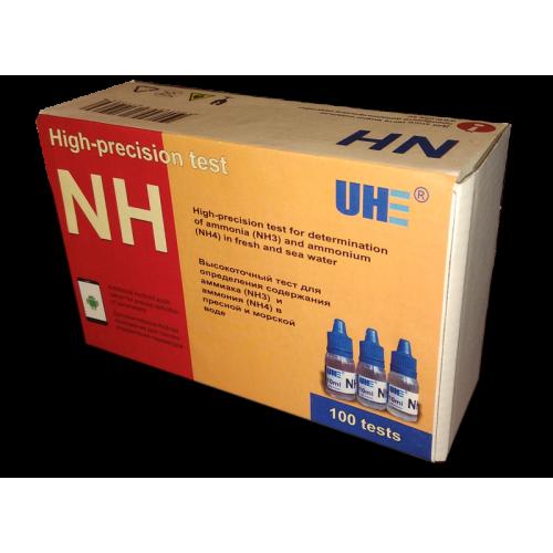 UHE NH3/NH4 test - тест для определения концентрации аммиака/аммония в воде