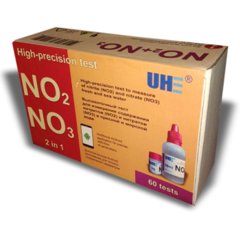 UHE NO2/NO3 test - тест для определения концентрации нитритов и нитратов в воде