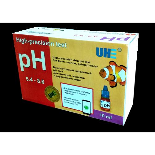 UHE pH 5,4-8,6 test - тест для определения уровня pH воды