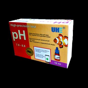 UHE pH 7,6-8,6 test - тест для определения уровня pH воды