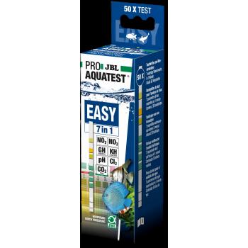 JBL ProAquaTest Easy 7in1 - Экспресс-тест по 7 основным параметрам воды, полоски, 50 шт.