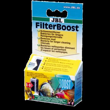 JBL FilterBoost - Бактерии для оптимизации фильтра в пресных и морских аквариумах, 25 г