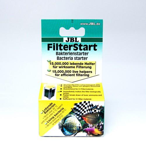 JBL FilterStart - Бактерии для активации фильтра в пресных и морских аквариумах, 10 мл