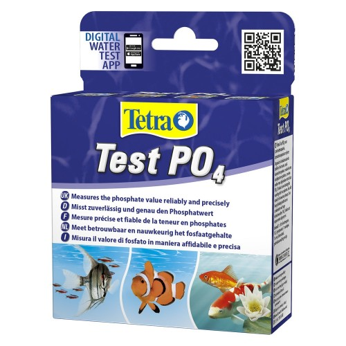 Tetra Test PO4, тест воды на фосфаты, пресная и морская вода (10мл)