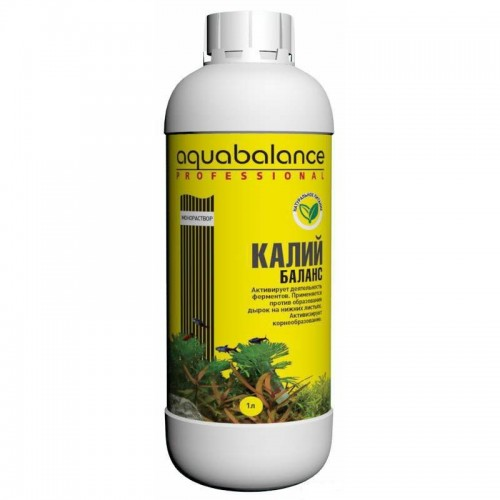 AQUABALANCE PROFESSIONAL Калий-баланс 1 л - удобрение для растений