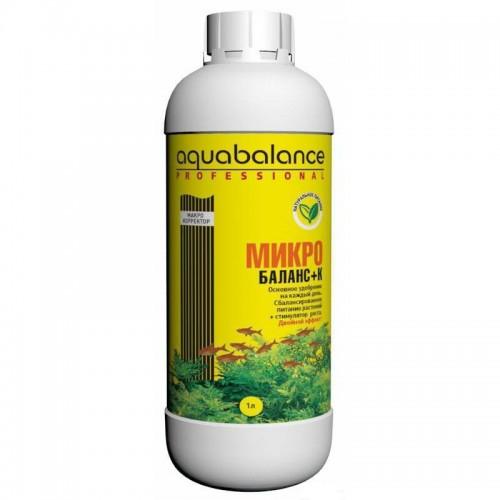 AQUABALANCE PROFESSIONAL Микро-баланс+К 1 л - удобрение для растений